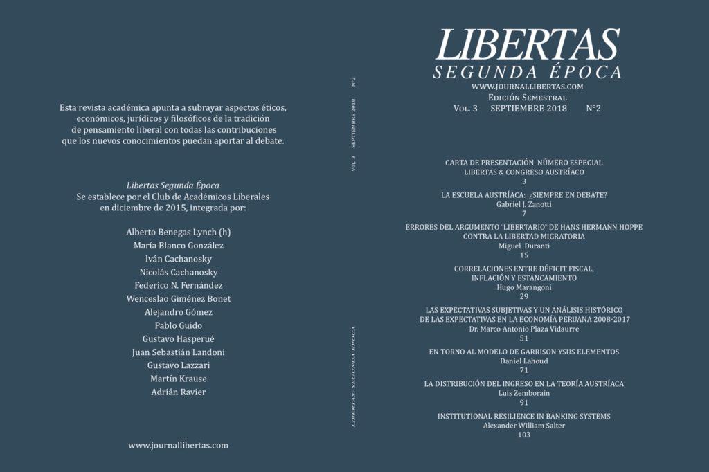 Número Especial del Journal Libertas